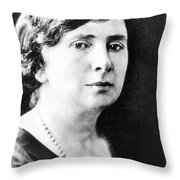 Rose Schneiderman Throw Pillow