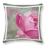 Rose Triptych 11 Throw Pillow