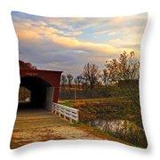 Roseman Bridge Throw Pillow