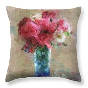 Roses For Mom Throw Pillow