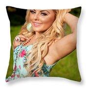 Rosey15 Throw Pillow
