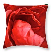 Rosie Red Throw Pillow