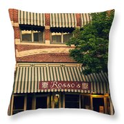 Rossos Throw Pillow