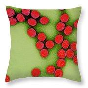 Rotavirus Throw Pillow