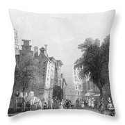 Rotterdam, C1830s Throw Pillow