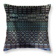 Round Midnight Throw Pillow