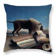 Rousseau: Gypsy, 1897 Throw Pillow