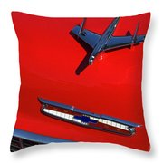 Route 66 Classic Cars 1 Throw Pillow