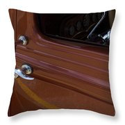 Route 66 Classic Cars 14 Throw Pillow