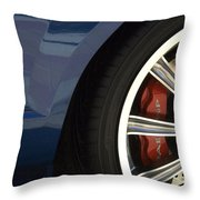 Route 66 Classic Cars 3 Throw Pillow