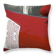 Route 66 Classic Cars 5 Throw Pillow