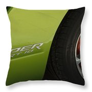 Route 66 Classic Cars 7 Throw Pillow