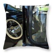 Route 66 Classic Trucks 2 Throw Pillow