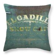 Route 66 Del Gadillos Throw Pillow