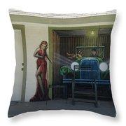 Route 66 Motel Arizona Throw Pillow