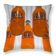 Route 66 Soda Throw Pillow