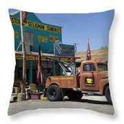 Route 66 The Real Mader Throw Pillow