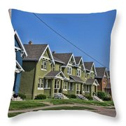 Rows And Rows Throw Pillow