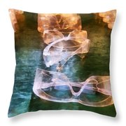 Rows Of Safety Goggles Throw Pillow