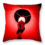 Roxannes Red Light Throw Pillow