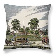 Roxbury, Massachusetts Throw Pillow