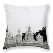 Royal Cemetery Throw Pillow