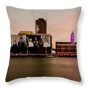 Royal Family And Oxo Tower Throw Pillow