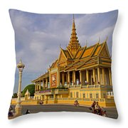 Royal Palace Throw Pillow