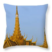 Royal Palace Roof. Throw Pillow