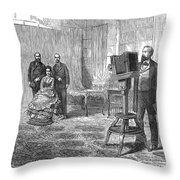 Royal Portrait, C1860 Throw Pillow