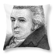 Royall Tyler (1757-1826) Throw Pillow