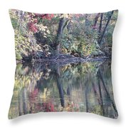 Ruby Of Fall Throw Pillow