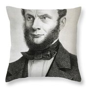 Rudolf Julius Emanuel Clausius Throw Pillow