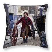Rufus Sewell Throw Pillow