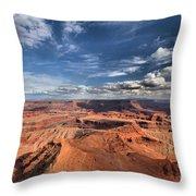 Rugged Landscape Throw Pillow