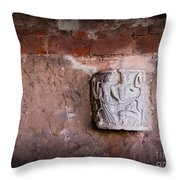 Ruins In Pisa Throw Pillow
