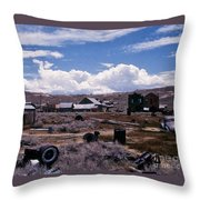 Ruins Of Bodie Throw Pillow