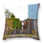 Run Down Ivy Throw Pillow