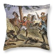 Runaway Slave Throw Pillow