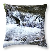 Running Through The Forest Throw Pillow