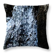 Running Water Throw Pillow