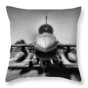 Runway Speed Throw Pillow