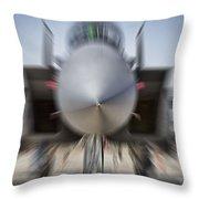 Runway Speed V2 Throw Pillow