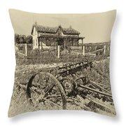 Rural Ontario Antique Throw Pillow