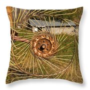 Rural Vista Throw Pillow
