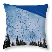 Rushing Back For Seconds Throw Pillow