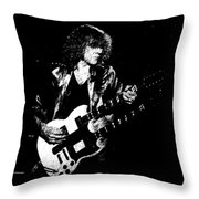 Rushing In Spokane 1978 Sketch Throw Pillow