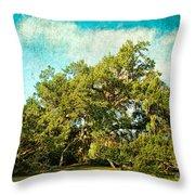 Ruskin Oak Throw Pillow
