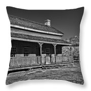 Russell Home - Bw Throw Pillow