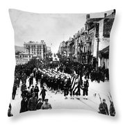 Russia: Allied Troops, C1919 Throw Pillow